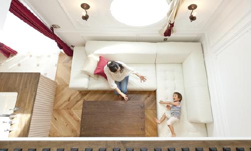 注文住宅の空気循環